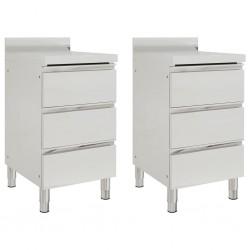 vidaXL Estantería de zapatos con 3 niveles madera maciza