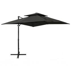 vidaXL Estantería de zapatos con 4 niveles madera maciza