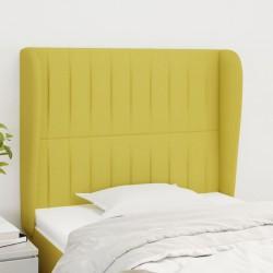 vidaXL Fundas de mesa elásticas 2 uds 60 cm blanco y estampado dorado