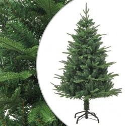 vidaXL Fundas de mesa elásticas 2 uds 70 cm blanco y estampado dorado