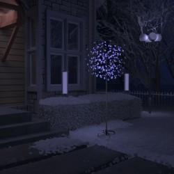 vidaXL Fundas elásticas para mesa 2 uds con falda 150x74 cm blanco