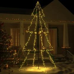 vidaXL Fundas elásticas de mesa 2 uds con falda 120x60,5x74 cm blanco