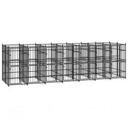 vidaXL Fundas elásticas para mesa 2 uds con falda 120x74 cm negro