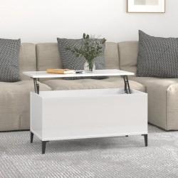 vidaXL Fundas elásticas para mesa 2 uds con falda 150x74 cm crema