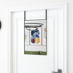 vidaXL Perchero MDF blanco 20,2x8,5x66,5 cm