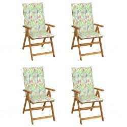 vidaXL Estantería 5 niveles madera maciza mango y acero 80x35x180 cm