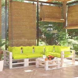 vidaXL Estantería de 5 niveles madera maciza mango 90x30x180 cm