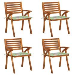 vidaXL Cesto para leña con correas transporte sauce natural 50x44x58cm