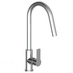 vidaXL Manta de algodón añil 220x250 cm