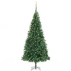 vidaXL Manta de algodón burdeos 220x250 cm