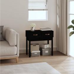 vidaXL Manta a cuadros de algodón gris antracita 220x250 cm