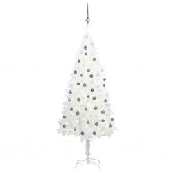 vidaXL Mantel individual 6 uds liso redondo yute y algodón verde 38 cm