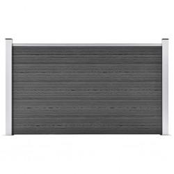 vidaXL Cenador con cortina blanco crema 4x3 m