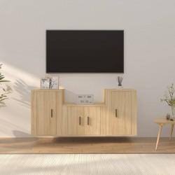 vidaXL Banco de jardín 122 cm de madera