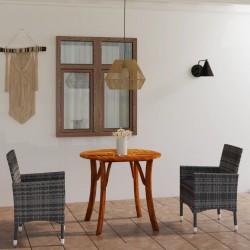 Nature Funda de muebles de jardín para mesa rectangular 225x143x90 cm