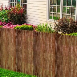 vidaXL Mantel individual 6 uds Chindi liso algodón antracita 30x45 cm