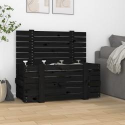 Nature funda protectora para muebles de jardín forma de L PE 250x90x90