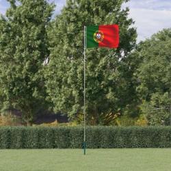 vidaXL Silla mecedora de jardín de madera blanca