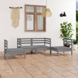 Ubbink Revestimiento piedra para estanques Classic 5x0,6m gris 1331002