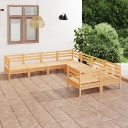Nature Enrejado de jardín 45x180 cm bambú 6040720