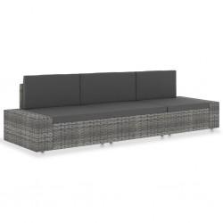 vidaXL Postes de valla 6 unidades de madera 150 cm
