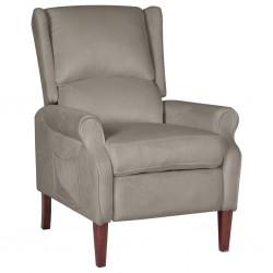 vidaXL Cenador con tejado 3x3 m gris oscuro