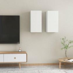 vidaXL Sillas plegables de jardín 2 uds madera de acacia y textilene