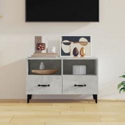 vidaXL Colcha de tela ultrasónica azul oscuro 230x260 cm