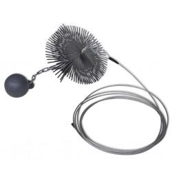 Nature Enrejado de plástico verde 100x300 cm 6040706