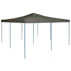 vidaXL Sillas mecedoras de jardín 2 unidades acero y textilene negro