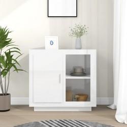 vidaXL Mesa de jardín plegable con 2 bancos madera de abeto 220 cm