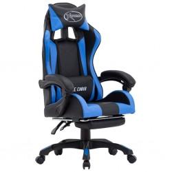 vidaXL Cortinas con anillas de metal 2 uds algodón gris 140x225 cm