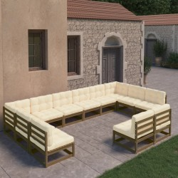 Madison Funda para sillas de jardín 75x78x90 cm gris