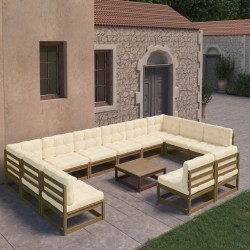 Madison Funda para barbacoa 126x52x101 cm gris