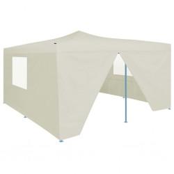 Madison Funda para muebles de jardín 320 cm redonda gris