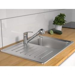 Madison Funda para muebles de jardín gris 255x255x70 cm