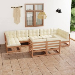 Madison Funda para juego de muebles de jardín gris 275x275x70 cm