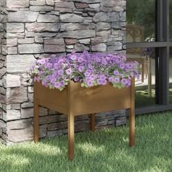 Madison Funda para juego de muebles de jardín gris 255x255x70 cm