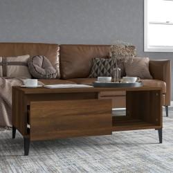 vidaXL Cortinas aros de metal 2 pza algodón color triángulos 140x175cm