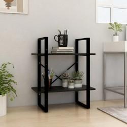vidaXL Sillas de jardín 2 unidades madera maciza acacia marrón