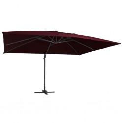 Pure2Improve Rueda de yoga rosa y blanco 34 cm