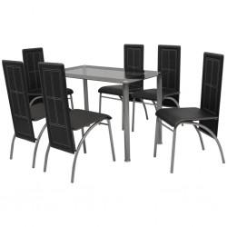 vidaXL Puerta de valla de acero verde 306x150 cm