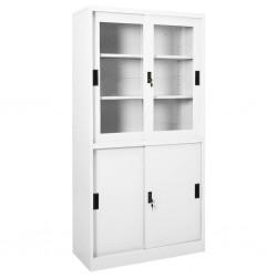 vidaXL Sillas apilables de jardín 6 unidades acero y textileno negro