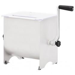 vidaXL Mesa de jardín bistro de acero gris 80x71 cm