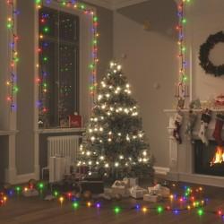 vidaXL Cortinas opacas anillas 2 pzas terciopelo azul oscuro 140x175cm