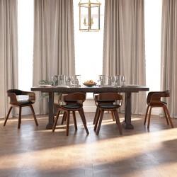 vidaXL Lona 650 g/m² 4x4 m verde