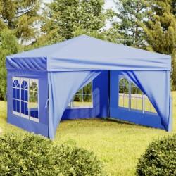 vidaXL Cobertizo doble contenedor basura ratán negro 148x80x111cm