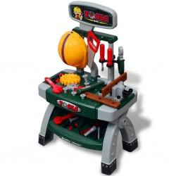 vidaXL Buzón de columna de aluminio estilo vintage inoxidable verde