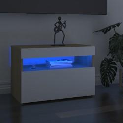 vidaXL Mesa de pícnic infantil y sombrilla acacia maciza 79x90x60 cm