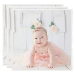 vidaXL Mesa alta de bar de madera de acacia maciza 60x105 cm